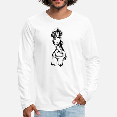 Pin-up Pin up - T-shirt manches longues premium Homme