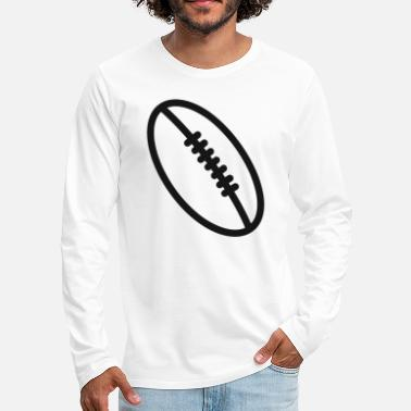 Gaming Rugby team football fan rugby team american football - Men's Premium Longsleeve Shirt