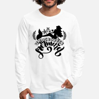 Sealife Undercover mermaid - Men's Premium Longsleeve Shirt