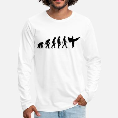 Taekwondo The Evolution of Taekwondo - Men's Premium Longsleeve Shirt