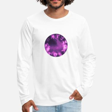 Esotericism Zodiac signs | Astrology motif purple - Men's Premium Longsleeve Shirt