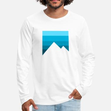 Birthday Present mountains - Men's Premium Longsleeve Shirt