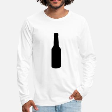 beer bottle - Men's Premium Longsleeve Shirt