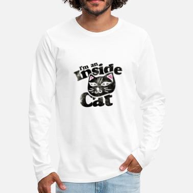 House Tiger Domestic cat house tiger - Men's Premium Longsleeve Shirt