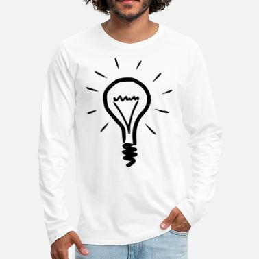 Light Bulb light bulb - Men's Premium Longsleeve Shirt