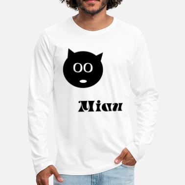 Cat, kitten, meow - Men's Premium Longsleeve Shirt