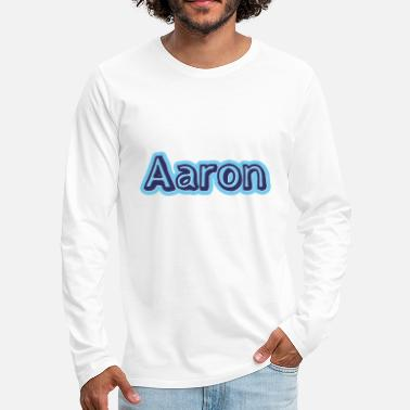 First Name Aaron name first name - Men's Premium Longsleeve Shirt