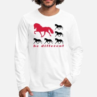 be different - Männer Premium Langarmshirt