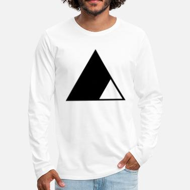 Triangle Triangle in the triangle - Men's Premium Longsleeve Shirt