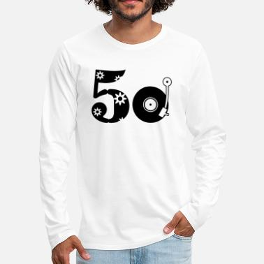 Fifties Fifties 50 - T-shirt manches longues premium Homme