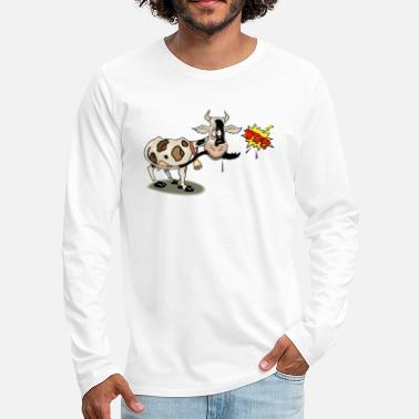 Little cow - Men's Premium Longsleeve Shirt