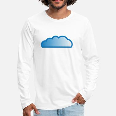 Cloud Cloud / cloud - Men's Premium Longsleeve Shirt