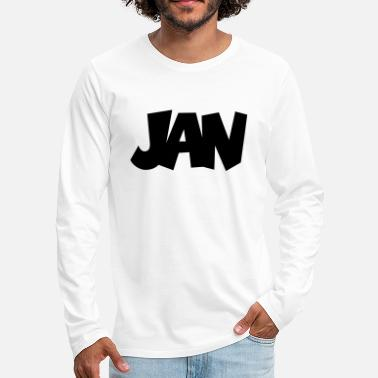 Jan Jan - Men's Premium Longsleeve Shirt
