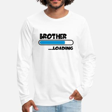 Loading Brother loading - Premium langærmet T-shirt mænd