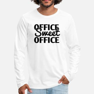 Office Office Sweet Office - Men's Premium Longsleeve Shirt