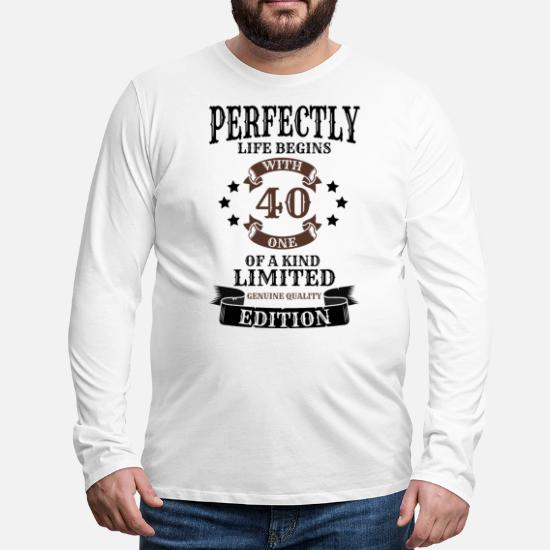 40 år Premium T skjorte for menn | Spreadshirt