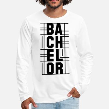 a1f9c7e66 Estudiante De Bachillerato Bachillerato gráfico - Camiseta de manga larga  premium hombre
