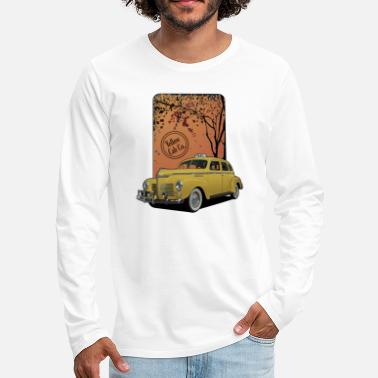 Classic Car Cab - Men's Premium Longsleeve Shirt