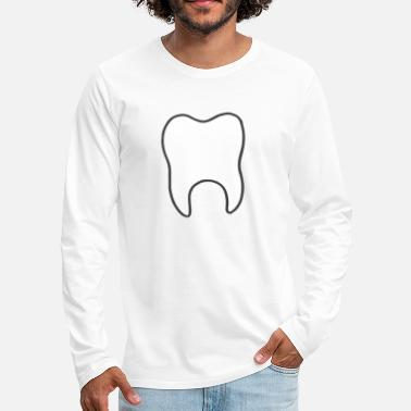 Tooth tooth - Men's Premium Longsleeve Shirt