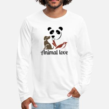 Animal Love Animal love - Men's Premium Longsleeve Shirt