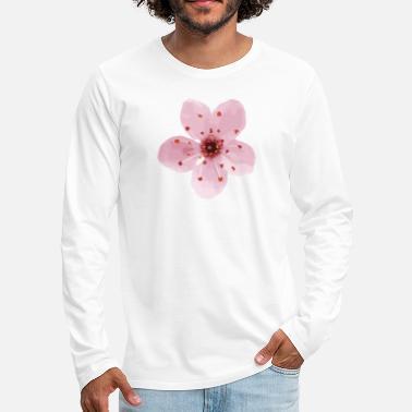 Cerezo en flor Cherry Blossom Camiseta polo hombre