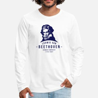 Classical Music Ludwig van Beethoven, Classical, Music - Men's Premium Longsleeve Shirt