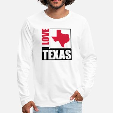 I Love i_love_texas_py2 - Men's Premium Longsleeve Shirt