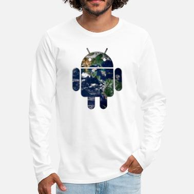 Android Android - Men's Premium Longsleeve Shirt