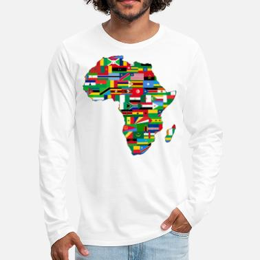 Continent africa collection - Men's Premium Longsleeve Shirt