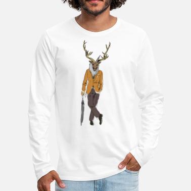 Hvor stor er en hjorte penis