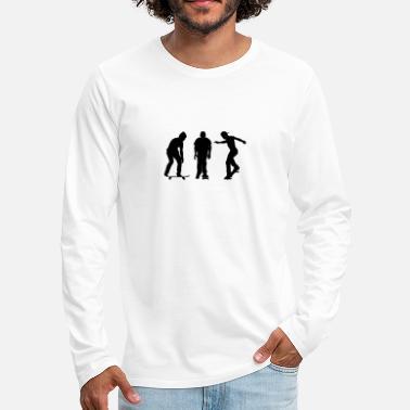 skaters - Men's Premium Longsleeve Shirt