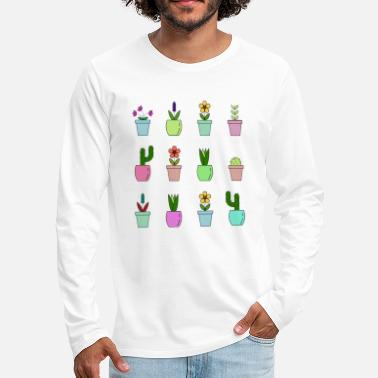 Plant plants - Men's Premium Longsleeve Shirt