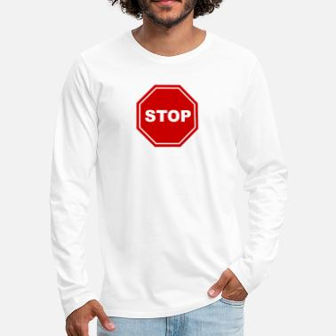 Stop Ball Stop - Men's Premium Longsleeve Shirt