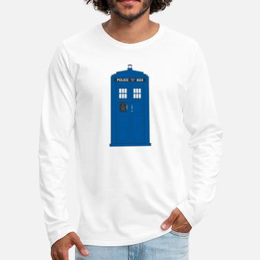 The Police Call Box - Men's Premium Longsleeve Shirt