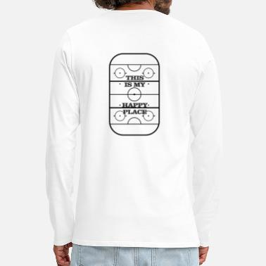 Happy ice hockey - Men's Premium Longsleeve Shirt