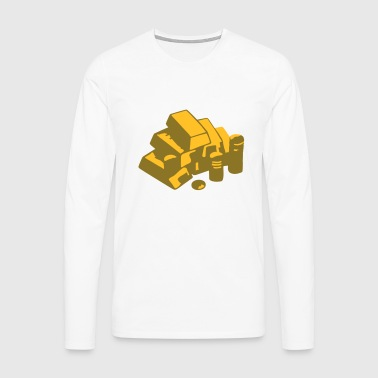 Gold - Men's Premium Longsleeve Shirt