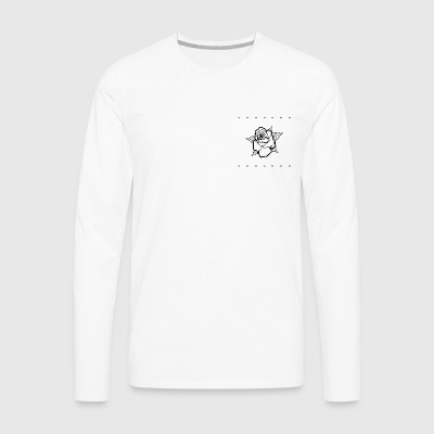 Small Black Rose - Men's Premium Longsleeve Shirt