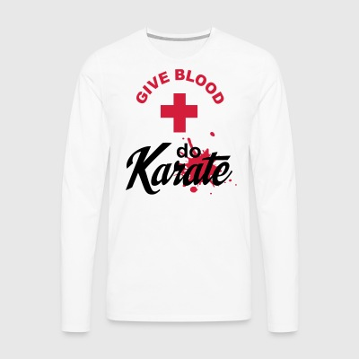 karate - Men's Premium Longsleeve Shirt