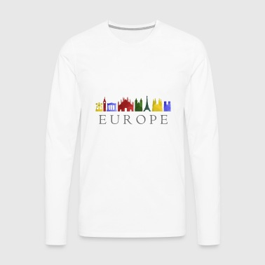 skyline europe - Men's Premium Longsleeve Shirt