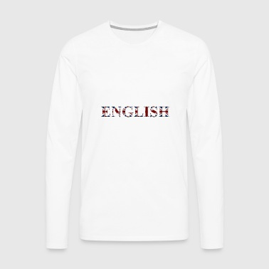 mot Inglese - T-shirt manches longues Premium Homme