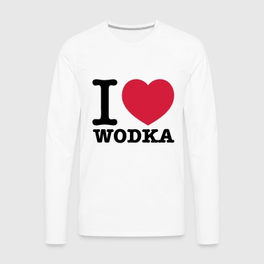 i love vodka - Men's Premium Longsleeve Shirt