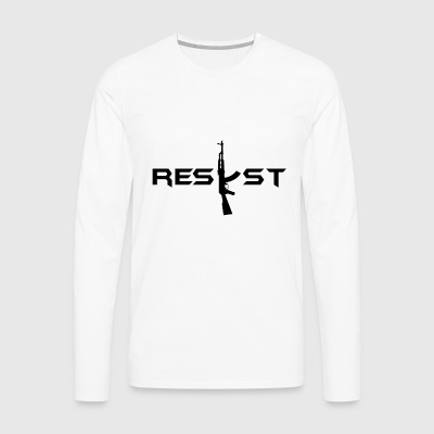 resist - Men's Premium Longsleeve Shirt