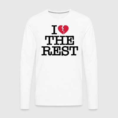 I hate the rest - Men's Premium Longsleeve Shirt