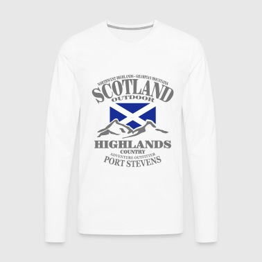 Scotland - Highlands - Men's Premium Longsleeve Shirt