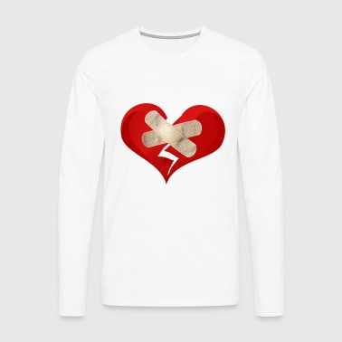 broken heart - Men's Premium Longsleeve Shirt