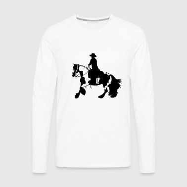 Tinker galop - T-shirt manches longues Premium Homme