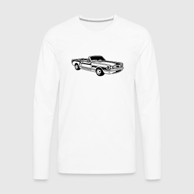 Convertible / Muscle Car 02_black - Men's Premium Longsleeve Shirt