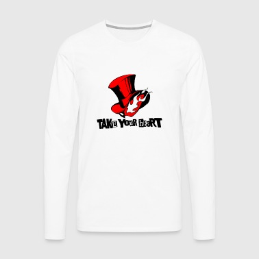 take your heart - Männer Premium Langarmshirt