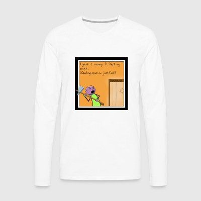 Snack Attack - Men's Premium Longsleeve Shirt