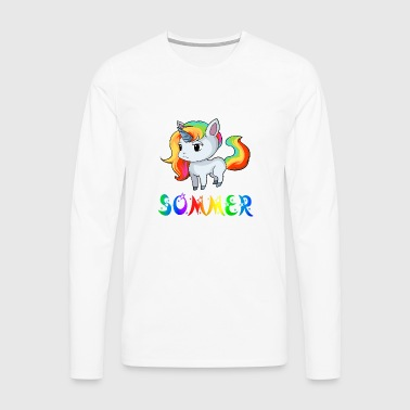 Unicorn summer - Men's Premium Longsleeve Shirt